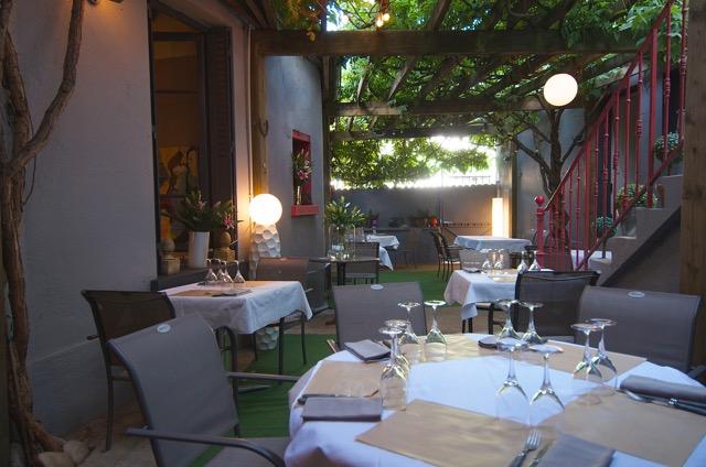 Terrasse © Restaurant L'Aventure
